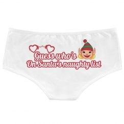 Naughty List Panties