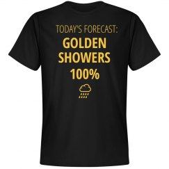 Golden Showers Forecast