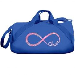 Pink Glitter Cheer Bag