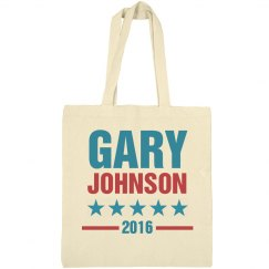 Gary Johnson 2016 Bag