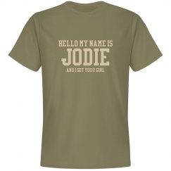Jodie Military T-shirt