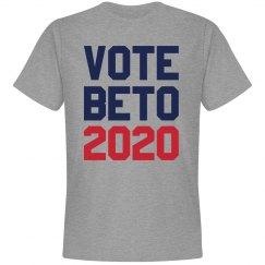 Beto O'Rourke in 2020