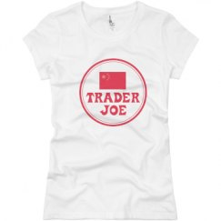 Ladies Slim Fit Basic Promo Jersey Tee