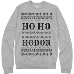 Ho Ho Hodor Ugly Sweater
