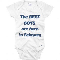 Best boys born in February