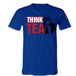 Unisex V-Neck Jersey Tee