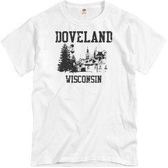Doveland Wisconsin Souvenir Tee