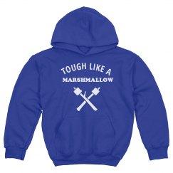 Tough Like A Marshmallow Kids Hoodie