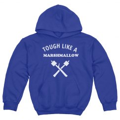 Tough Like A Marshmallow Kids Hoodie