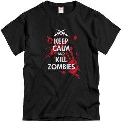 Keep Calm & Kill Zombies