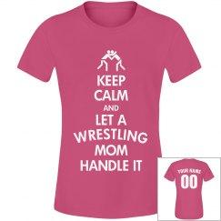 Keep Calm Wrestling Mom