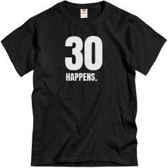 30 Happens