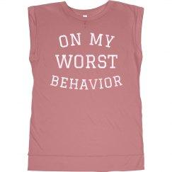 On My Worst Behavior