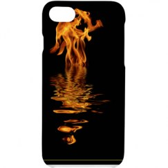 Fire/Water iPhone Case