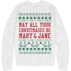 May Your Christmas Be Mary & Jane