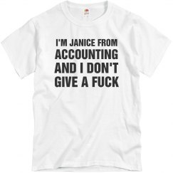 I'm Janice From Accounting