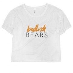 BULLISH BEARS CROPPED TEE