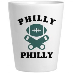 Philly Philly Shot Glass