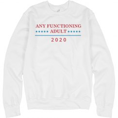 Any Functioning Adult For President