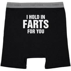 Hold in Farts for You