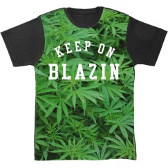 Trendy Keep Blazin All Over Print