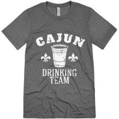 Cajun Mardi Gras Drinking Team