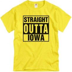 Straight Outta Iowa T-Shirt