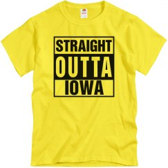 Straight Outta Iowa T-Shirt