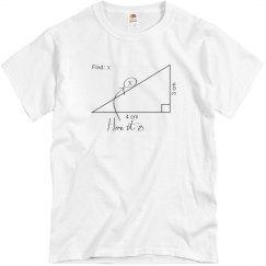 Bad at Math T-Shirt