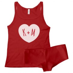 Custom Couple Initials Intimates