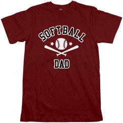 Softball Dad Tshirt