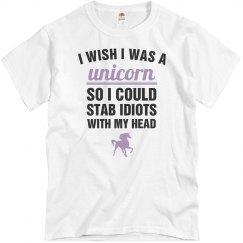 I Wish I Was A Unicorn Lavender
