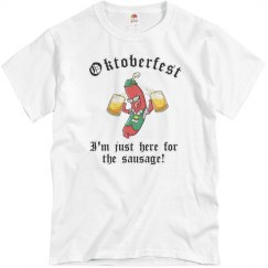 Just Here for the Sausage Oktober Fest Shirt