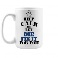 keep calm, fix it mug 15oz