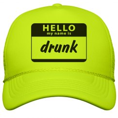Hello My Name Is Drunk