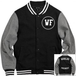 Worlds Freshest letterman