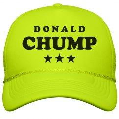 Neon Chump Trump Hat