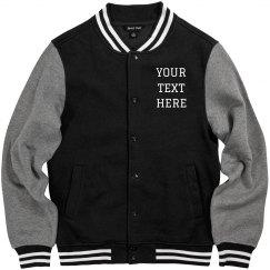 Customizable Varsity Jacket