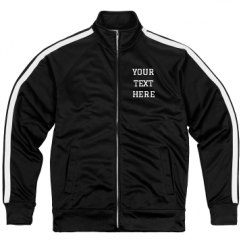 Unisex Poly-Tech Full-Zip Track Jacket