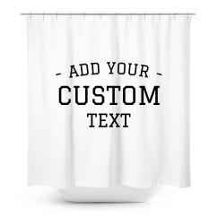 Customizable Shower Curtain