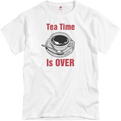 Tea Time Is Over
