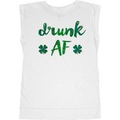 Drunk AF St. Patrick's Day Glitter