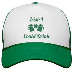 Irish I Could Drink St Patricks Hat