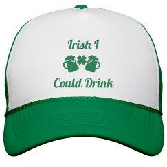 Irish I Could Drink St Patricks Hat