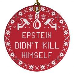 Epstein Was Murdered Christmas Gift