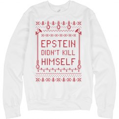 Epstein Tacky Christmas Sweater