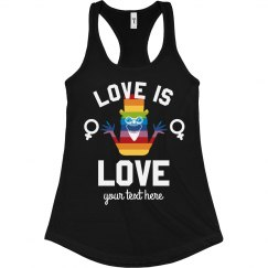 Babashook Love Is Love Lady