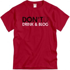 Don't Drink & Blog