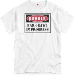 Danger Bar Crawl Tee
