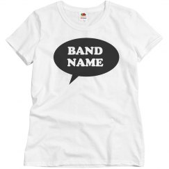 Simple Word Bubble Band Logo